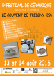 5ème FESTIVAL de CERAMIQUE du couvent de Treigny (89)