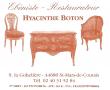 Logo de sarl ateliers h.boton