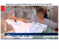 CréAnne sur TF1 ,  CréAnne CréAnne - Maison de Couture