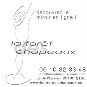 Logo de CAROLE PERVIER LA FORET DES CHAPEAUX