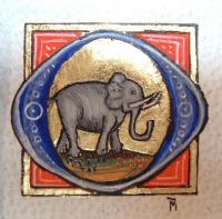 Stages d'enluminure médiévale , Atelier d'enluminure Mesnig