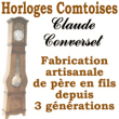 Logo de Horloges Comtoises Claude Converset